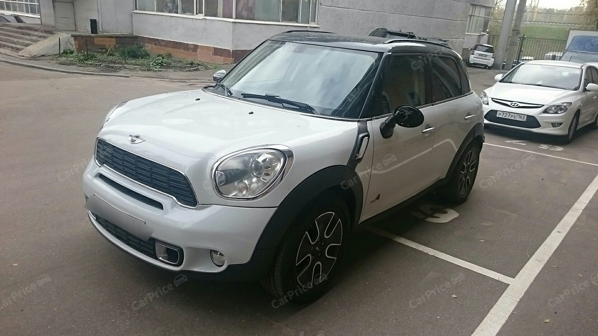 MINI Countryman I Cooper S 1.6 AT (184 л.с.) 4WD [2011]