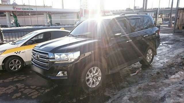 Toyota Land Cruiser 200 Series Рестайлинг 2 2017г.